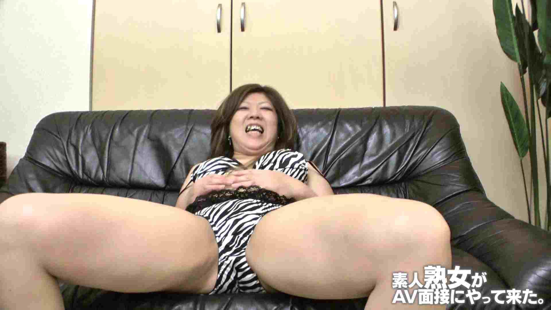 素人熟女がAV面接にやってきた (仮名)ゆかさんVOL.03 OL裸体 | 素人  52画像 38