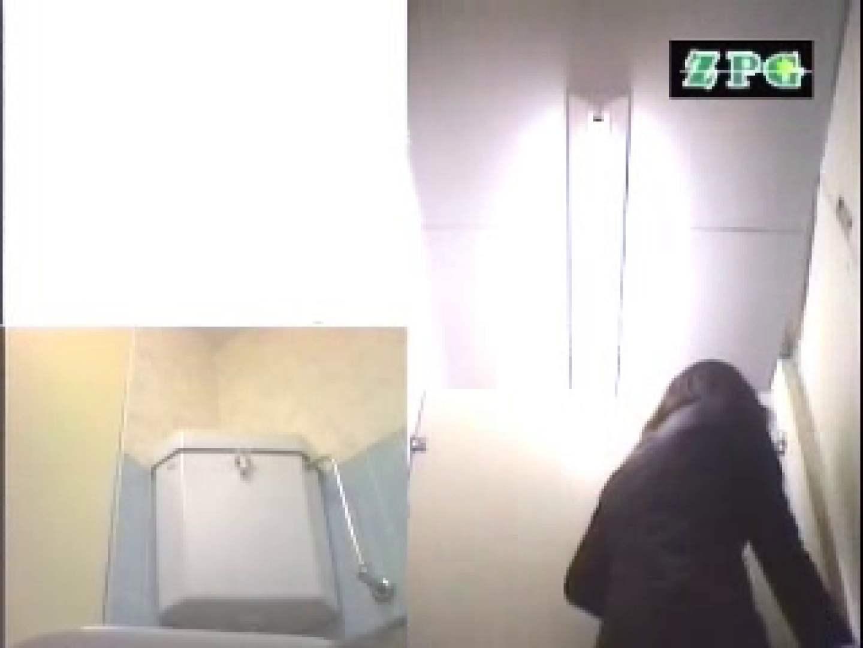 無修正ヌード|女子洗面所 便器に向かって放尿始めーっ AHSD-3|ピープフォックス(盗撮狐)